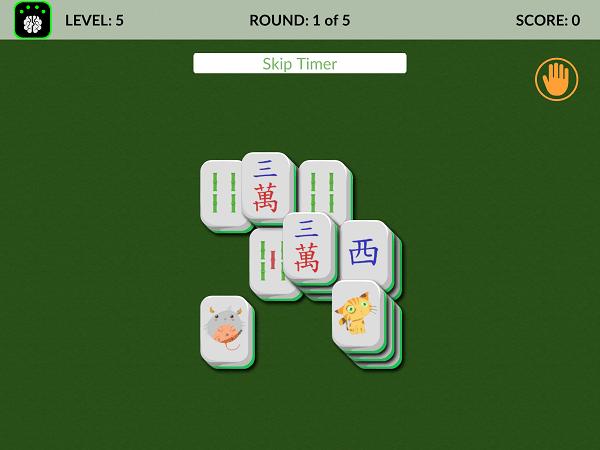 Neeuro Memorie Game - Memory Mahjong - 600x450