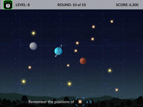 Neeuro Memorie Game - Stargazer - 600x450